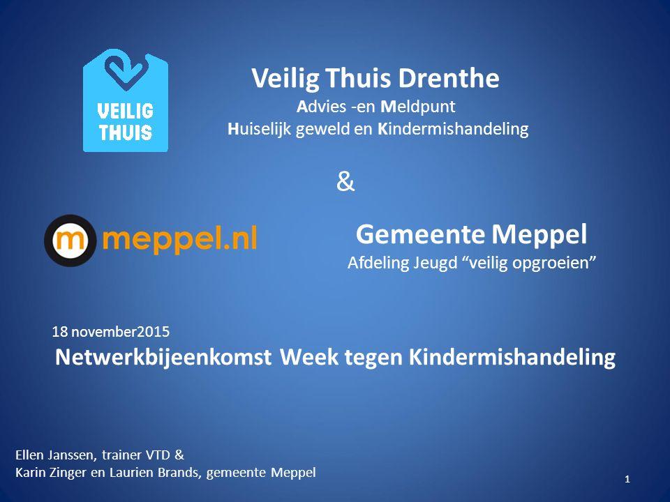 Netwerkbijeenkomst Week tegen Kindermishandeling
