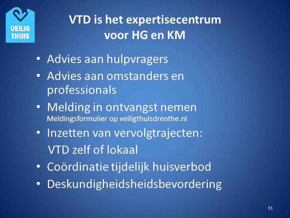 VTD is het expertisecentrum voor HG en KM