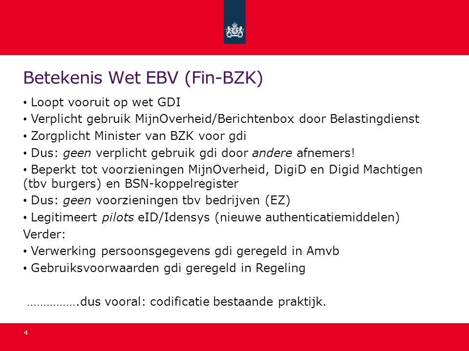 Betekenis Wet EBV (Fin-BZK)