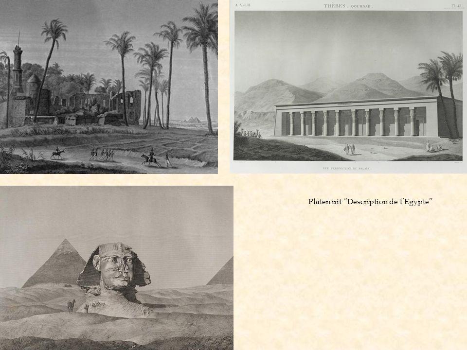 Platen uit Description de l'Egypte