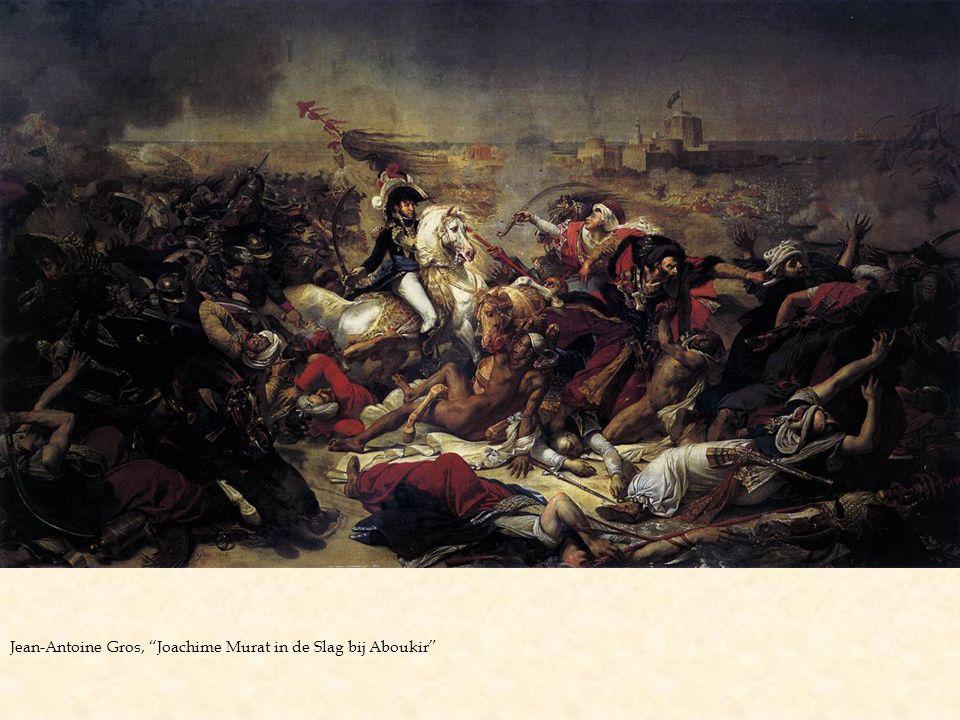 Jean-Antoine Gros, Joachime Murat in de Slag bij Aboukir
