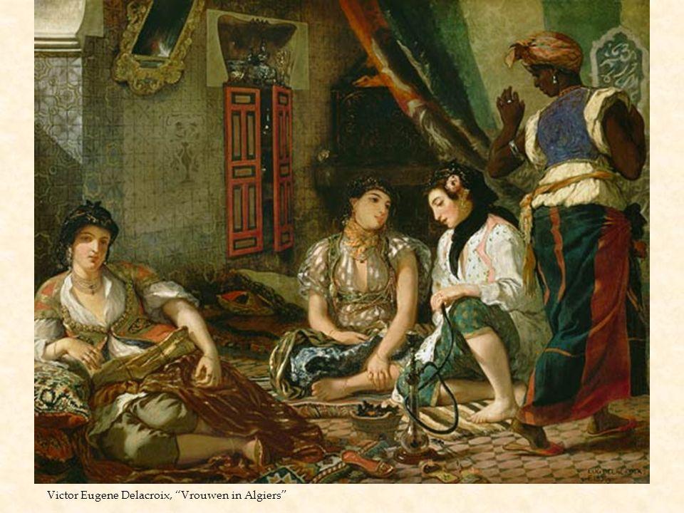 Victor Eugene Delacroix, Vrouwen in Algiers
