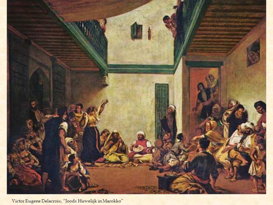 Victor Eugene Delacroix, Joods Huwelijk in Marokko