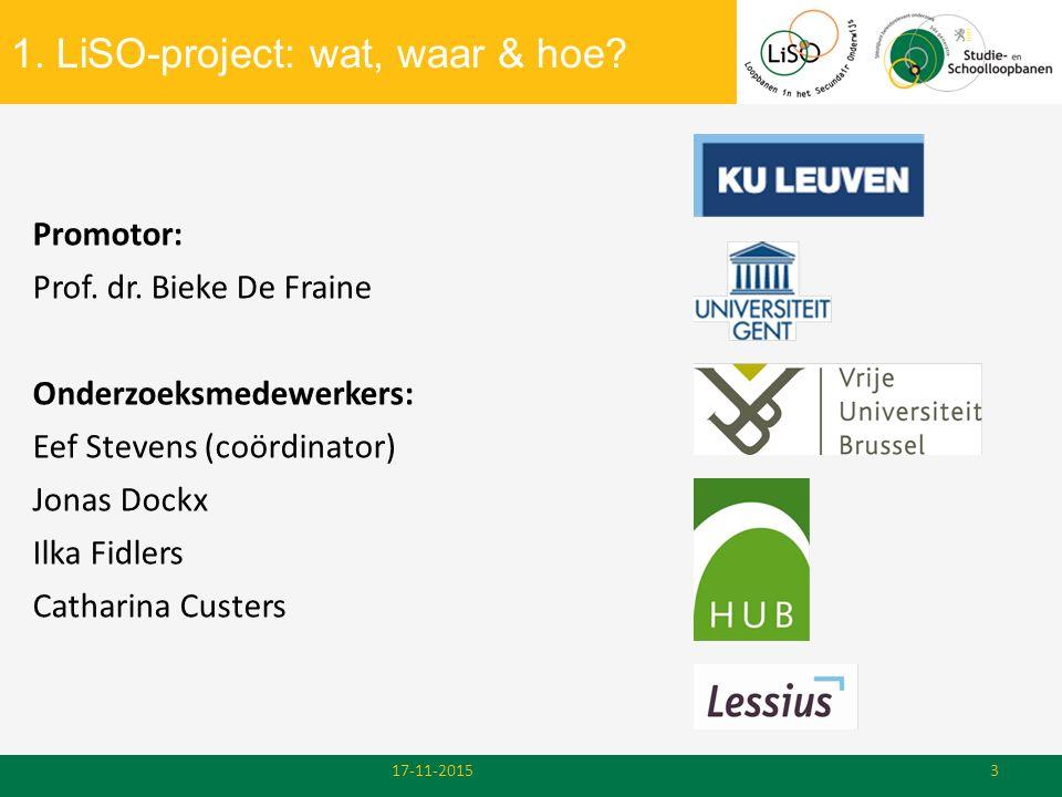 1. LiSO-project: wat, waar & hoe