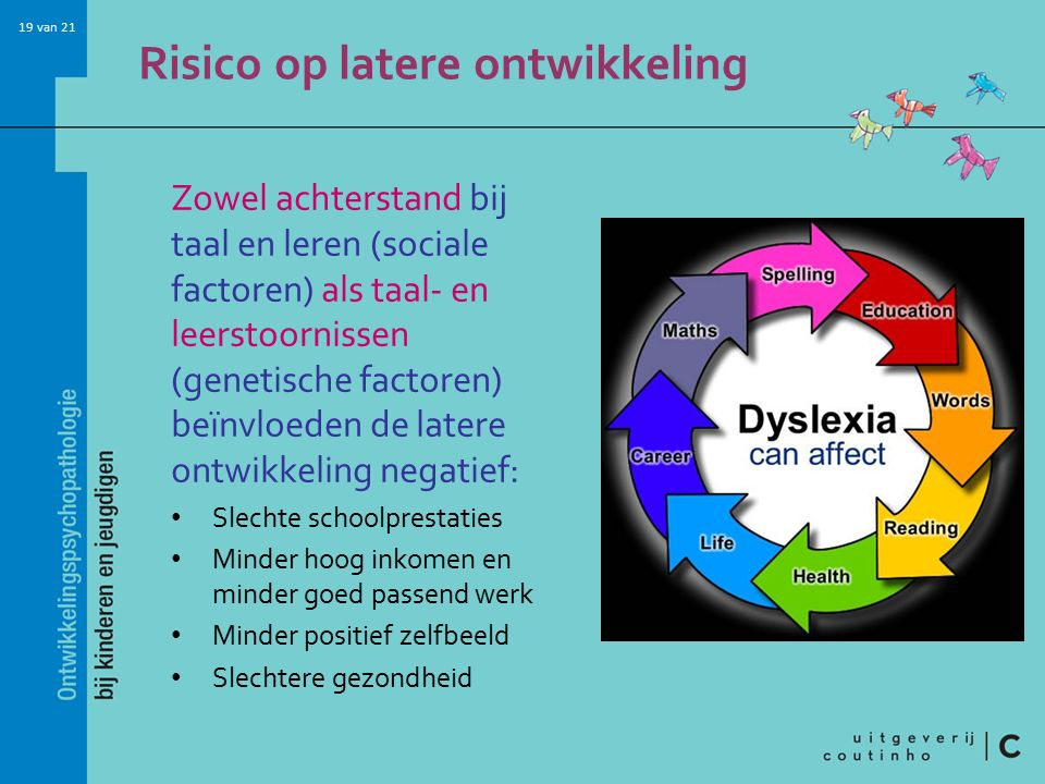 Risico op latere ontwikkeling