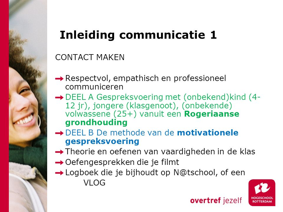 Inleiding communicatie 1