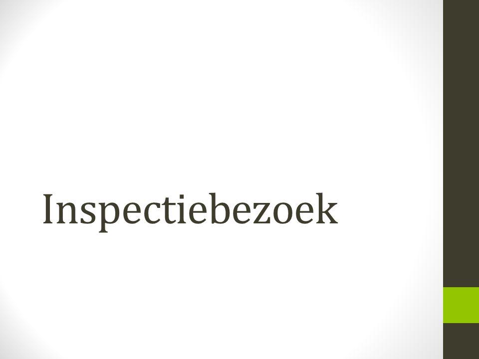 Inspectiebezoek