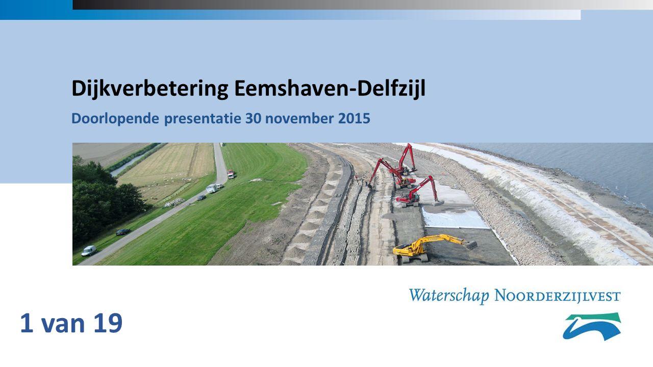 Dijkverbetering Eemshaven-Delfzijl