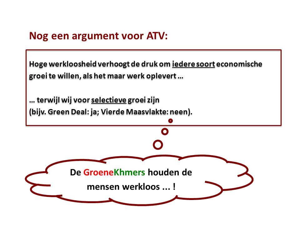 Nog een argument voor ATV:
