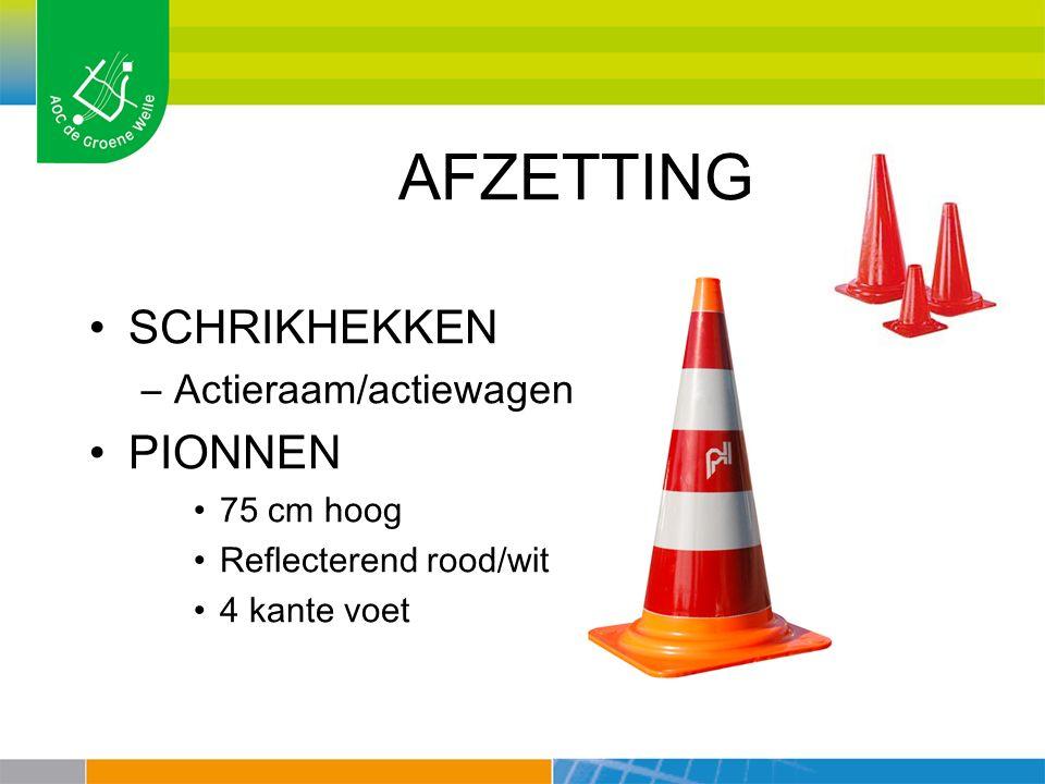 AFZETTING SCHRIKHEKKEN PIONNEN Actieraam/actiewagen 75 cm hoog