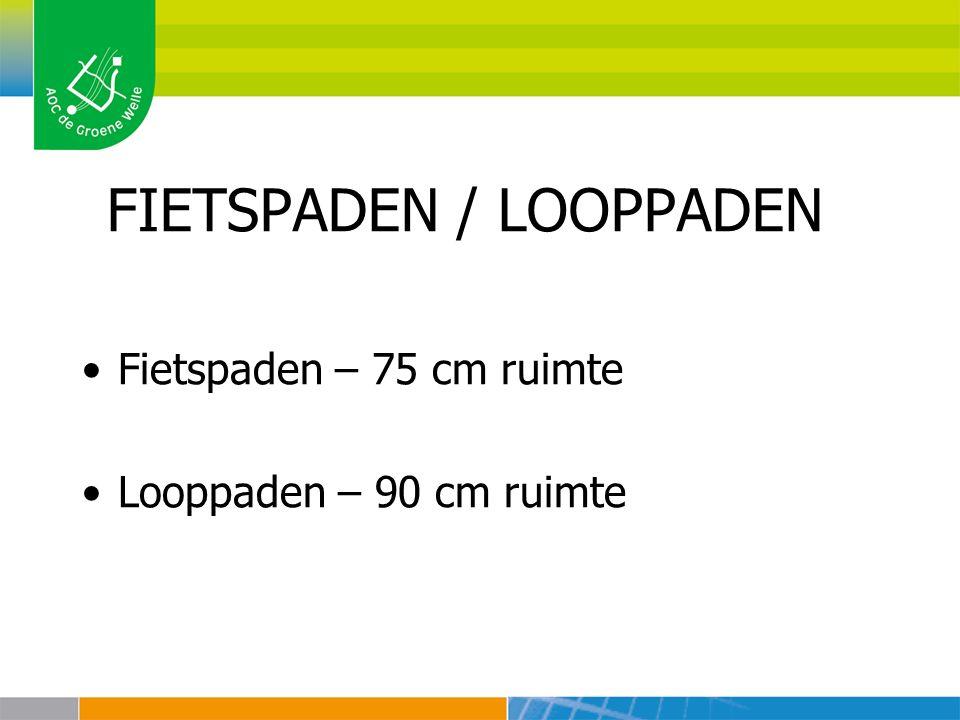 FIETSPADEN / LOOPPADEN