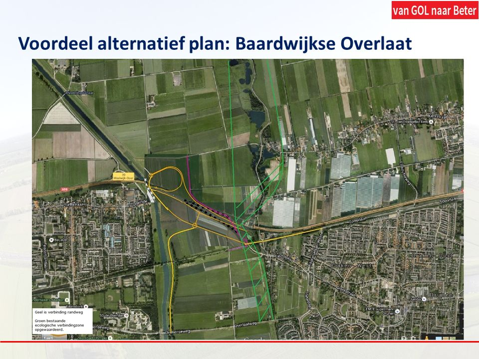 Voordeel alternatief plan: Baardwijkse Overlaat