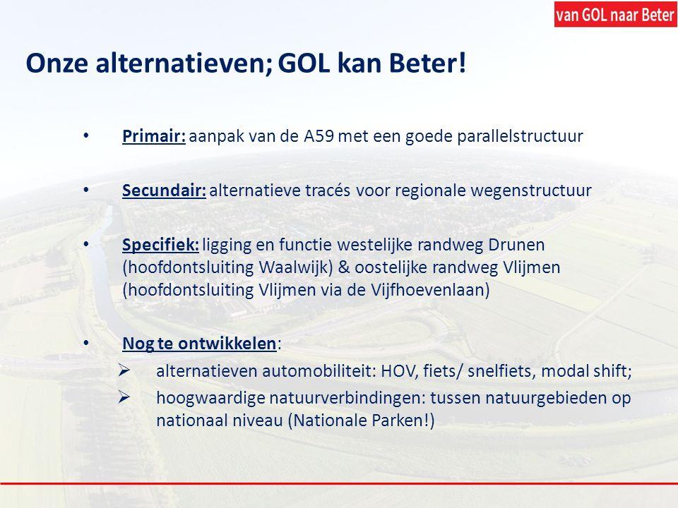 Onze alternatieven; GOL kan Beter!