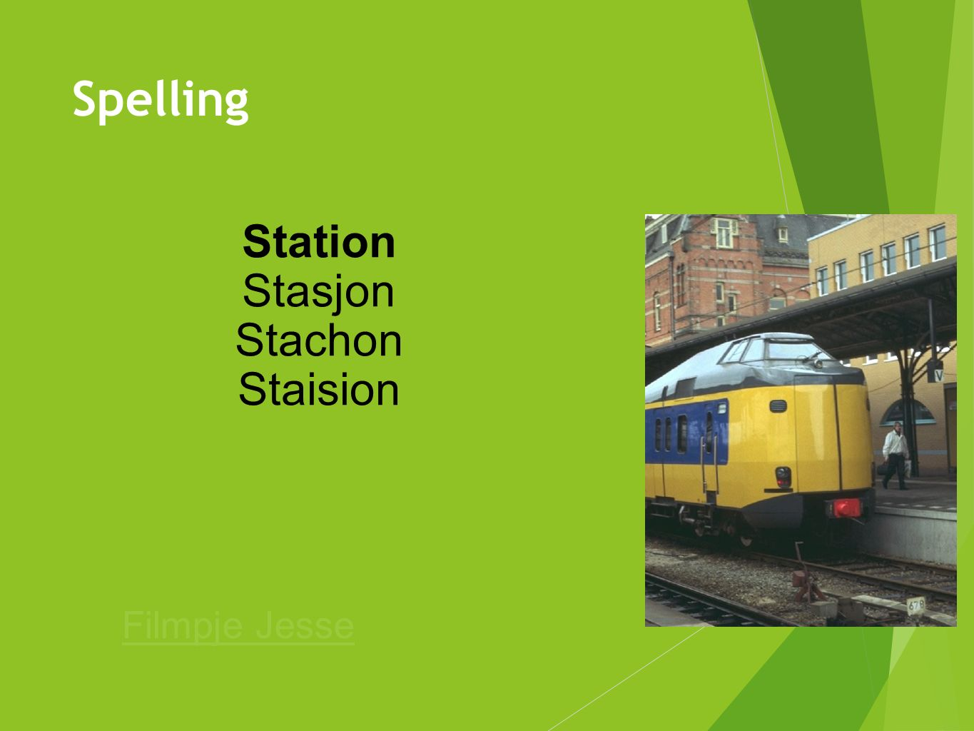 Station Stasjon Stachon Staision