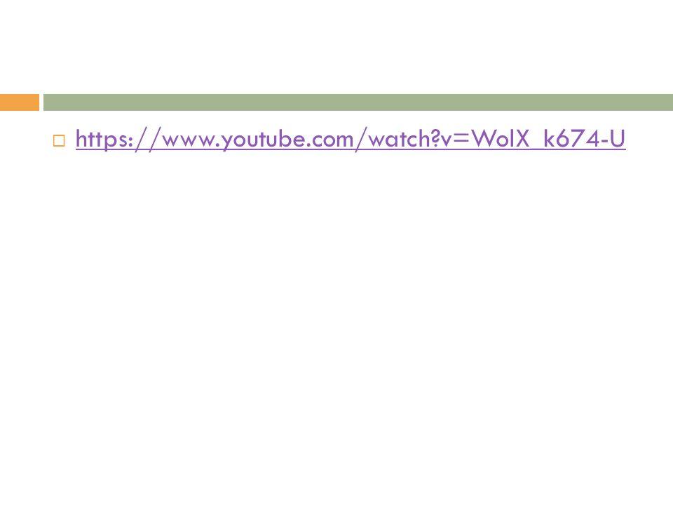 https://www.youtube.com/watch v=WolX_k674-U