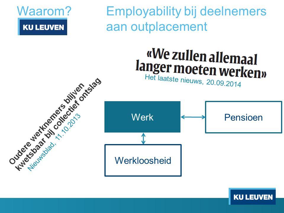 Waarom Employability bij deelnemers aan outplacement