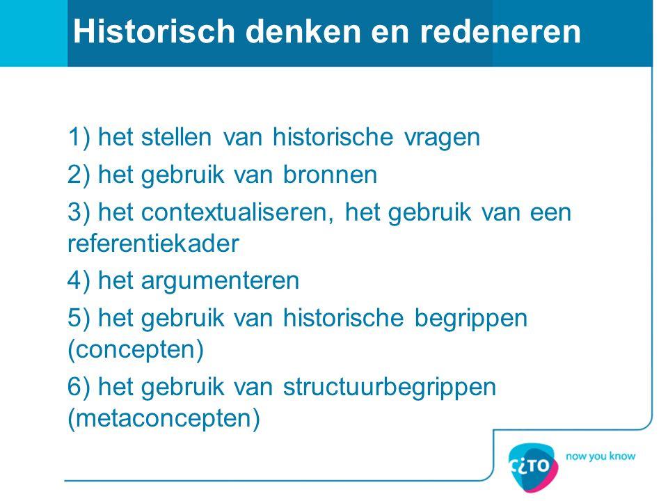 Historisch denken en redeneren