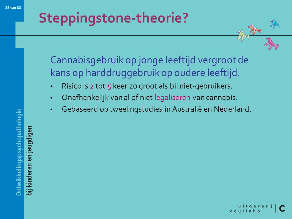 Steppingstone-theorie