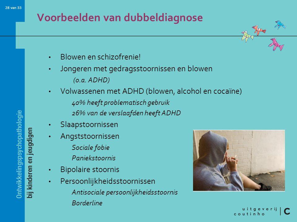 Voorbeelden van dubbeldiagnose