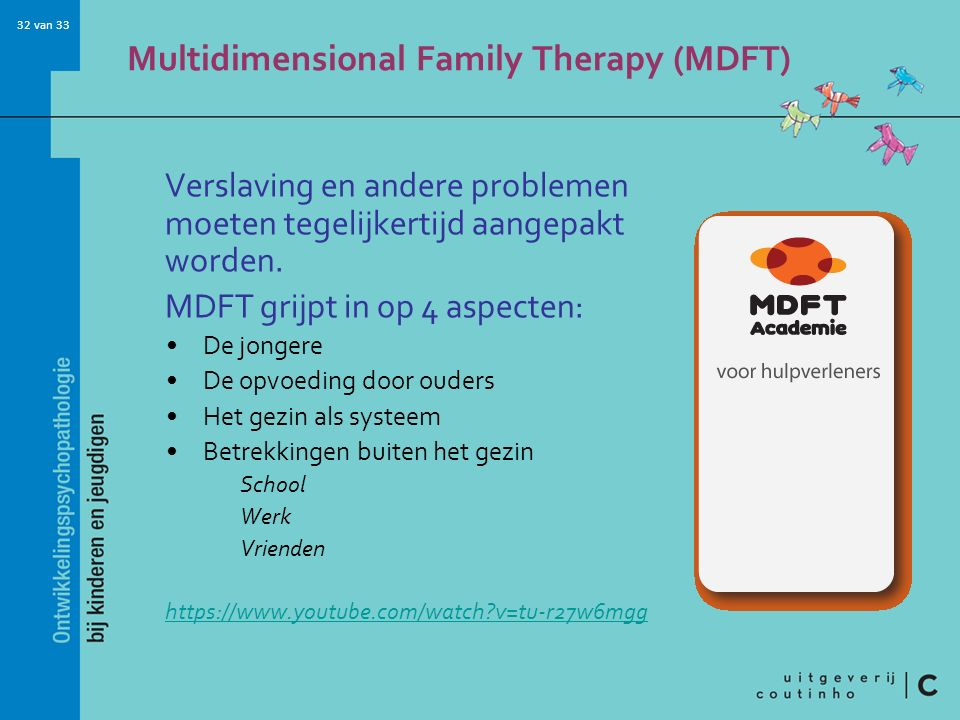 Multidimensional Family Therapy (MDFT)
