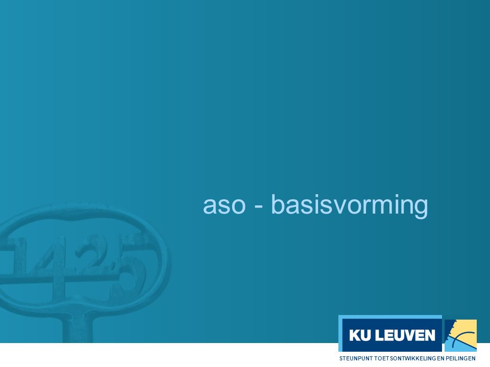 aso - basisvorming