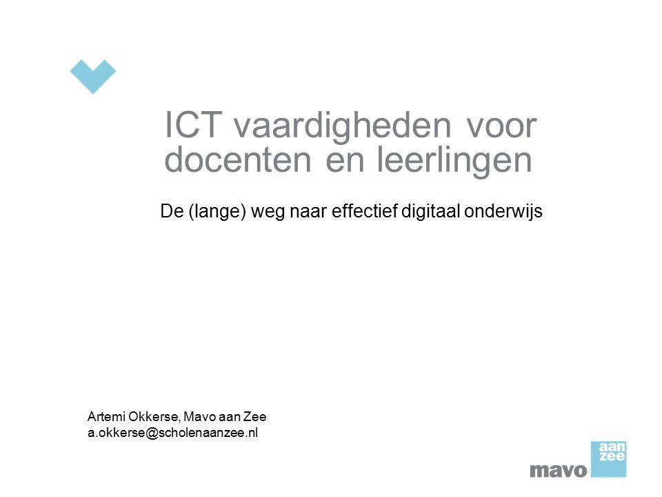ICT vaardigheden voor docenten en leerlingen