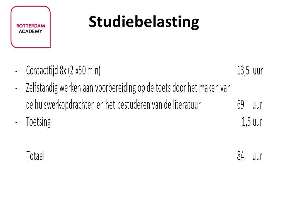 Studiebelasting