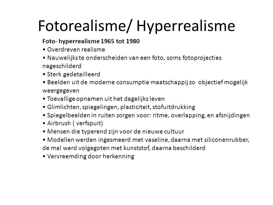 Fotorealisme/ Hyperrealisme