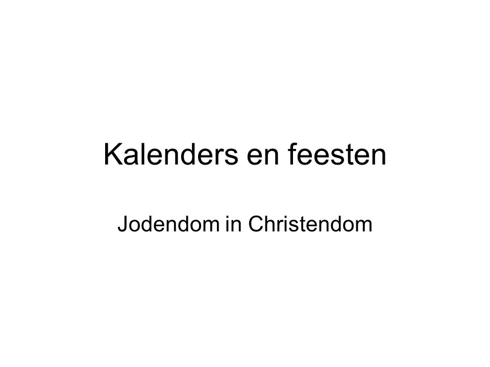 Jodendom in Christendom