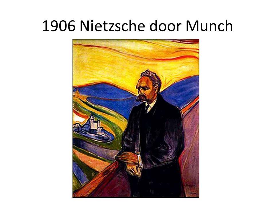1906 Nietzsche door Munch