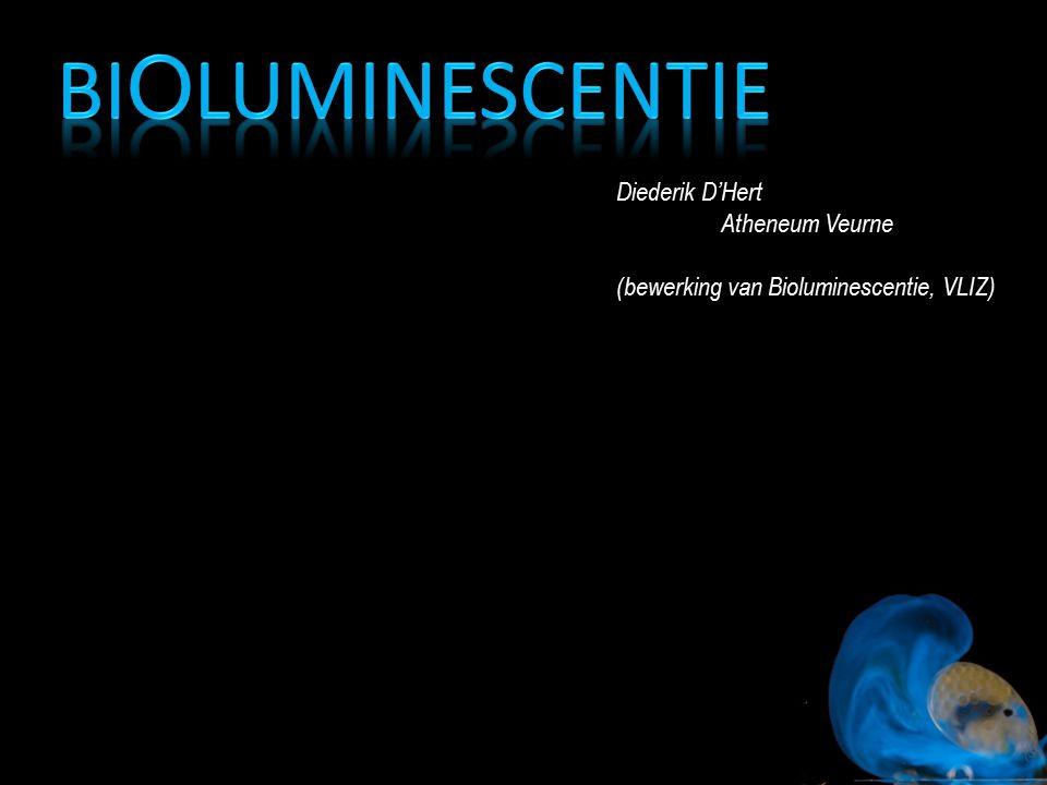 Bioluminescentie Diederik D'Hert Atheneum Veurne