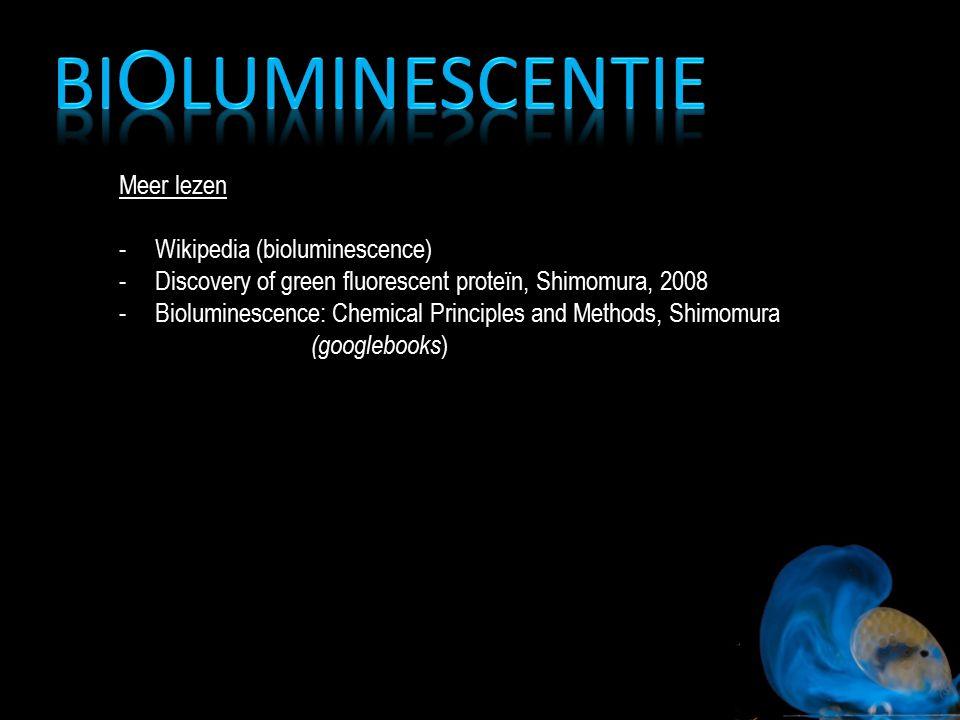 Bioluminescentie Meer lezen Wikipedia (bioluminescence)