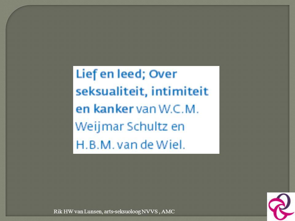 Rik HW van Lunsen, arts-seksuoloog NVVS , AMC