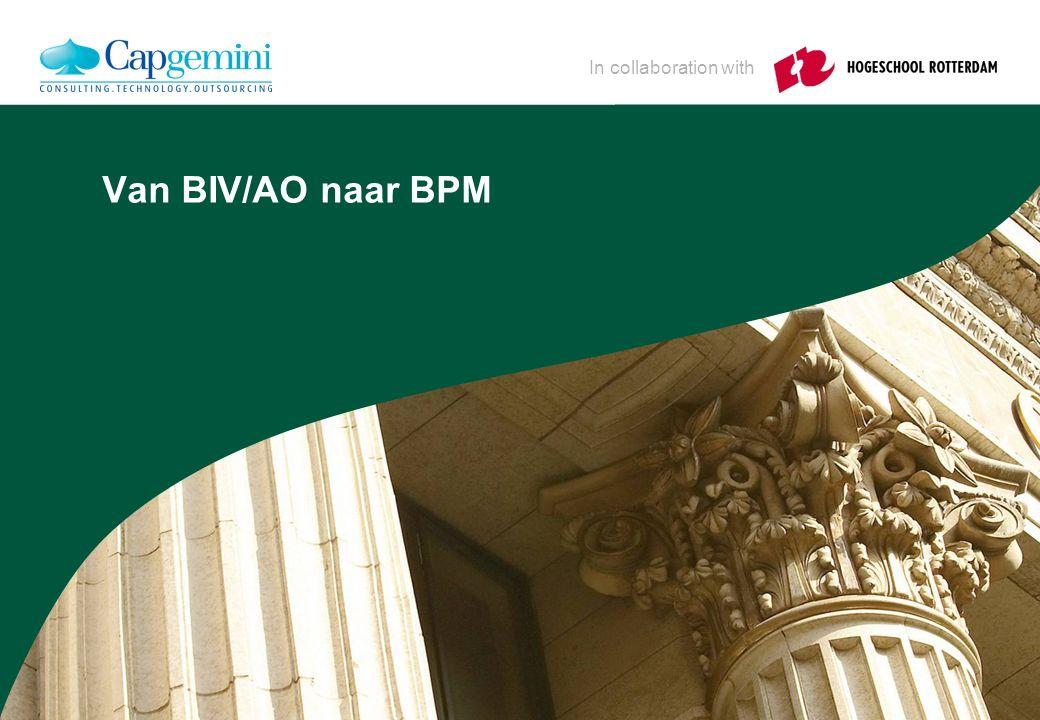 ctie Kern BPM = BIV/AO Interne Controle Administratieve Organisatie