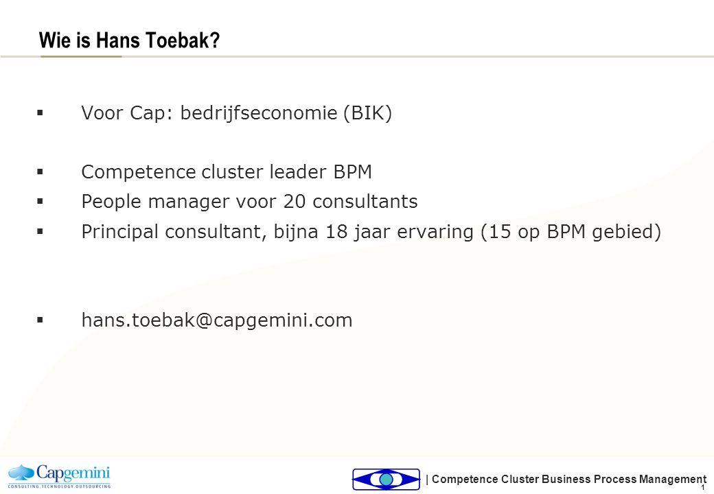 Agenda BPM, hoe zien wij het Van BIV/AO naar BPM Doel en doelgroepen