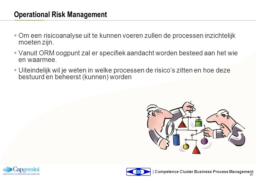 Operational Risk Management: aspecten