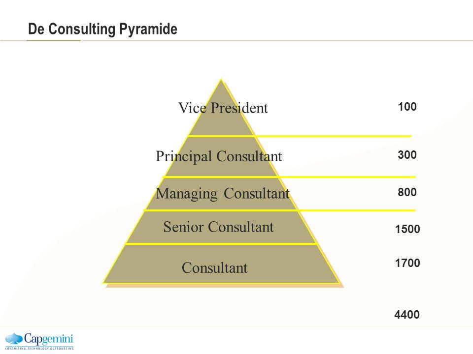 De Consulting Pyramide