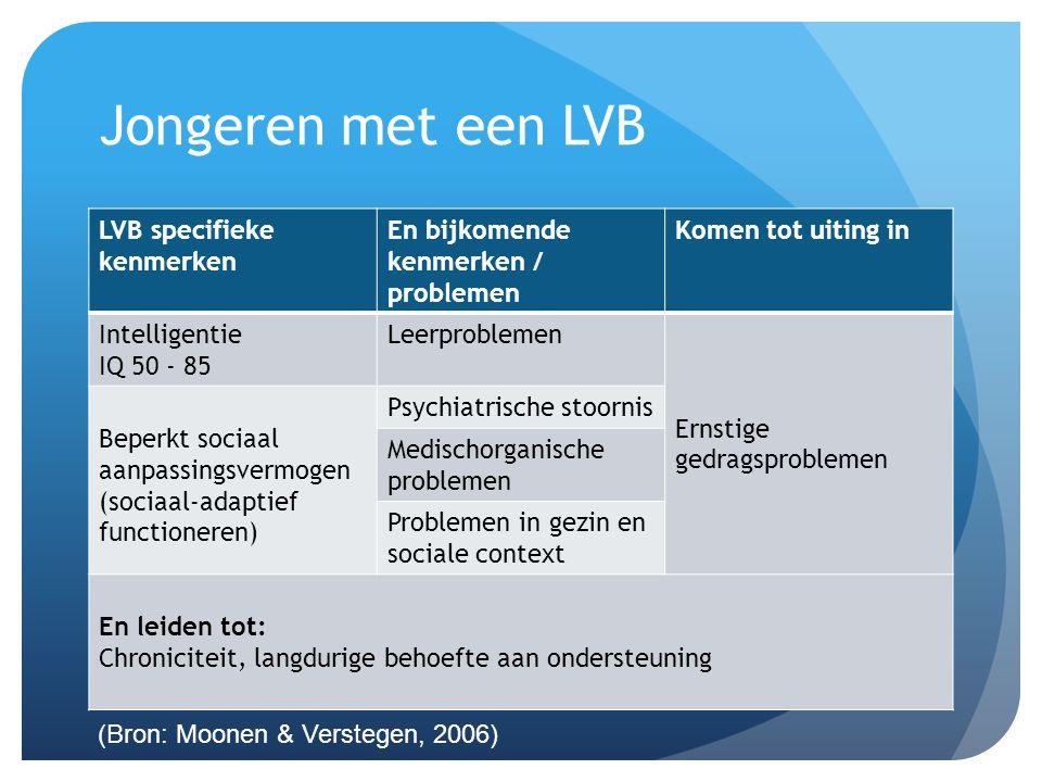 Jongeren met een LVB LVB specifieke kenmerken