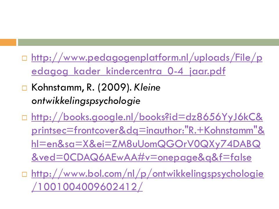 http://www. pedagogenplatform