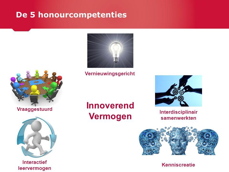 De 5 honourcompetenties