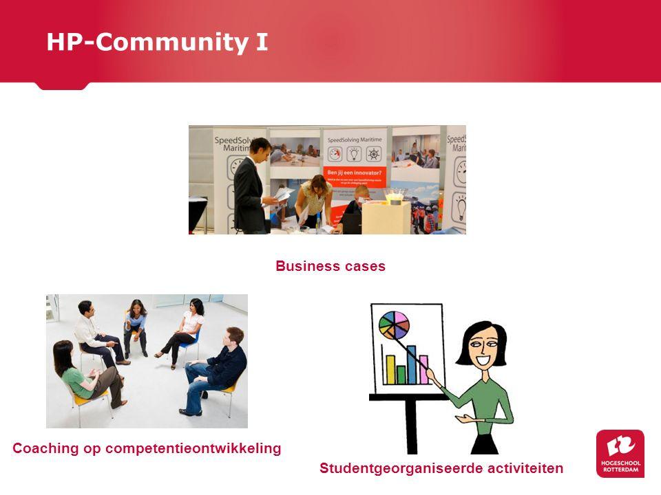Coaching op competentieontwikkeling Studentgeorganiseerde activiteiten