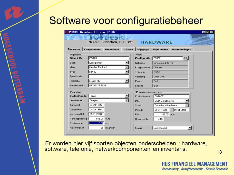 Software voor configuratiebeheer