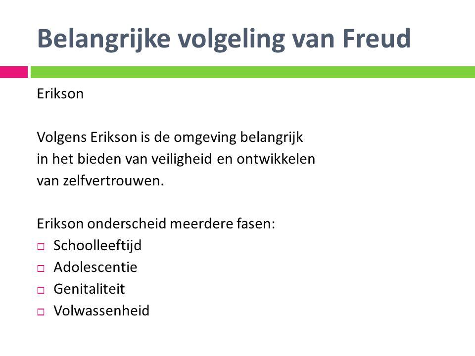Belangrijke volgeling van Freud