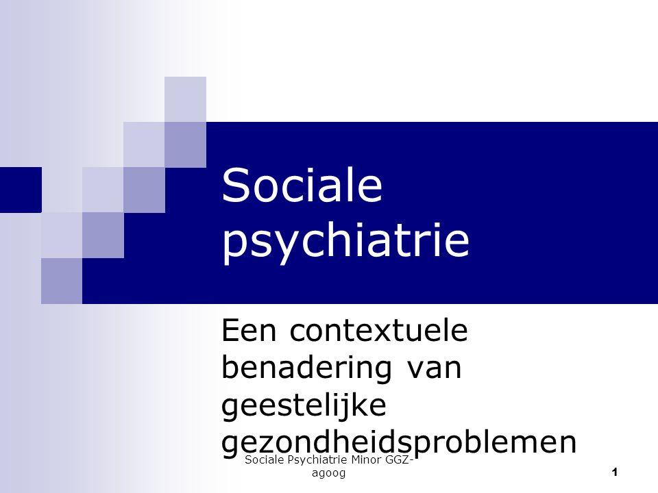 Een contextuele benadering van geestelijke gezondheidsproblemen