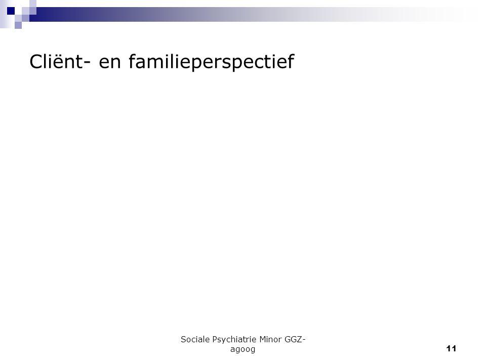 Cliënt- en familieperspectief