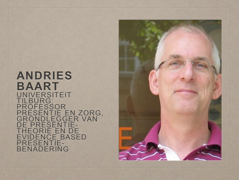 Andries Baart Universiteit Tilburg: