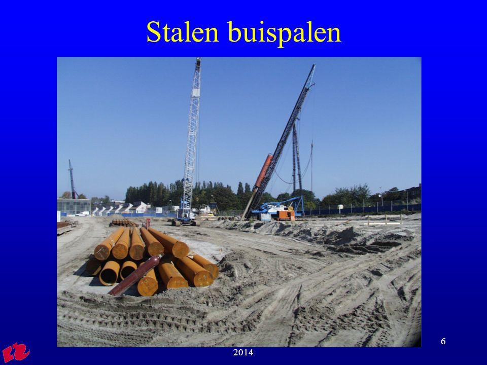 Stalen buispalen HRO Cursus igoFVB01 2013-2014
