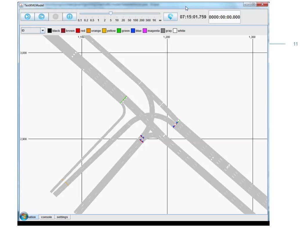 Animaties simulatie N201 Voorbeelden simulatie