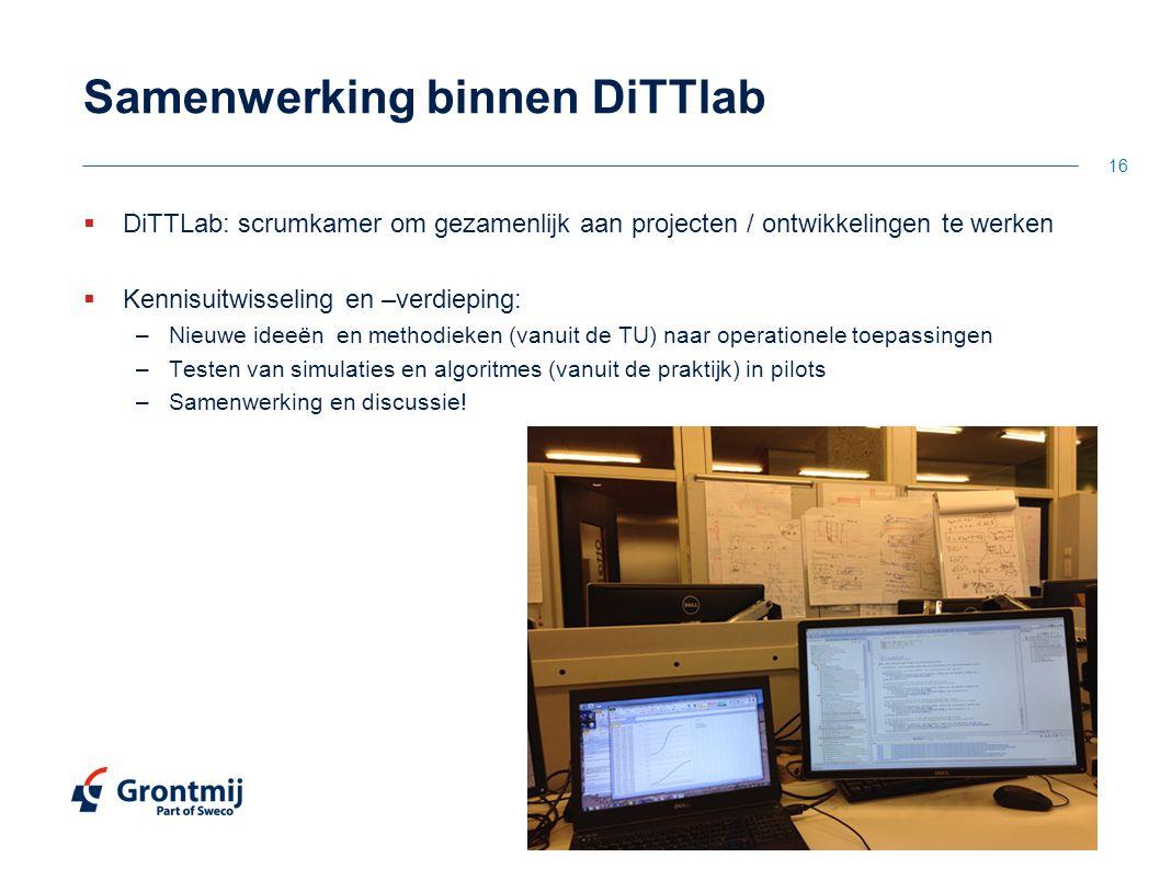 Samenwerking binnen DiTTlab