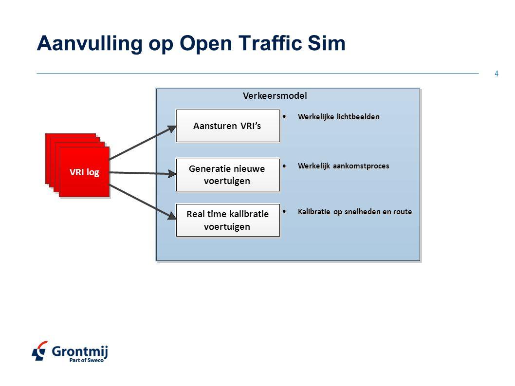 Aanvulling op Open Traffic Sim